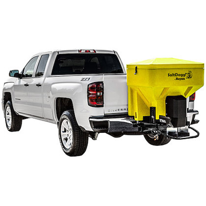 Picture of Buyers SaltDogg Auger Driven Tailgate Spreader - Yellow
