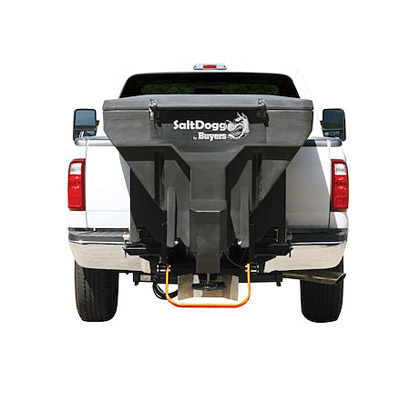 Picture of Buyers SaltDogg Low Profile Tailgate Spreader - Black