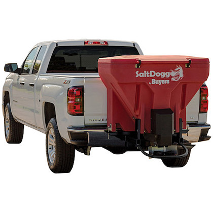Picture of Buyers SaltDogg Low Profile Tailgate Spreader - Red