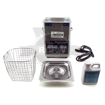 Picture of Ultrasonic Cleaner with 2/3 Gallon Tank