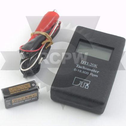 Picture of Wireless (Wire Hookup) Service Tachometer