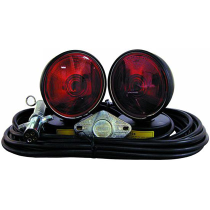 Picture of Towing Light Set in Plastic Storage Case