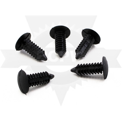 "Picture of 1/4"" Plastic Rivet (5 pack) - ONLY 11 LEFT IN STOCK"