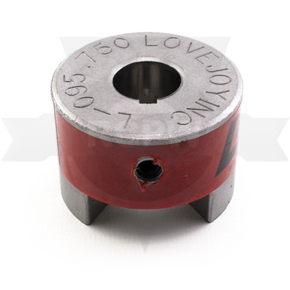 "Picture of L095 3/4"" Jaw-Coupling Hub"
