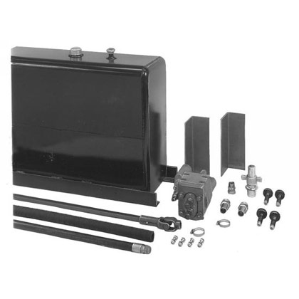Picture of 70-Gallon Upright Wetline Kit - Direct - Clockwise - Aluminum Tank.