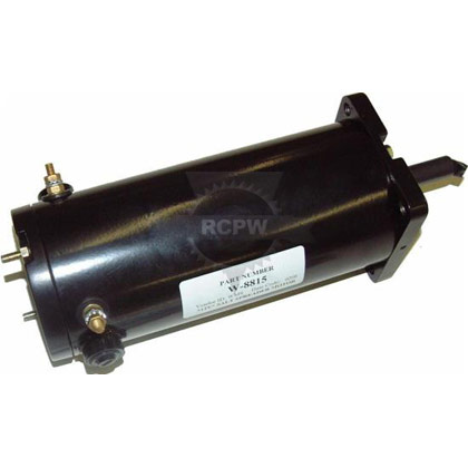 Picture of Western and Fisher Replacement Motor