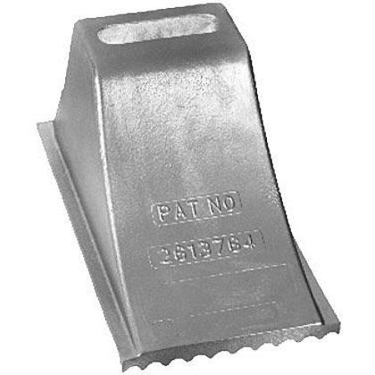 "Picture of Aluminum Wheel Chock - 8-1/2"" x 15"" x 8-1/4"""