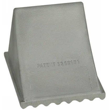 "Picture of Aluminum Wheel Chock - 6"" x 7"" x 5-1/4"""