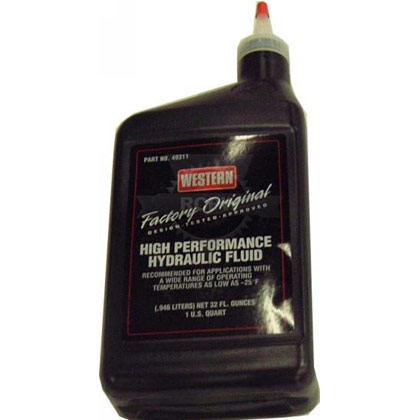 Picture of 1 Quart of Western Oil - Hydraulic Fluid (New)