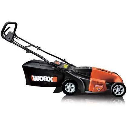 "Picture of Worx Corded Electric 19"" Electric Lawn Mower"