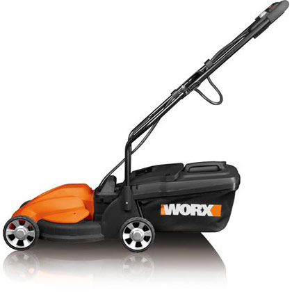 "Picture of Worx 24V Cordless 14"" Electric Lawn Mower"