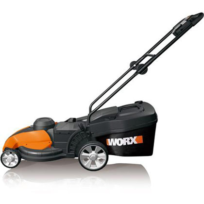 "Picture of Worx 24V Cordless 17"" Electric Lawn Mower"