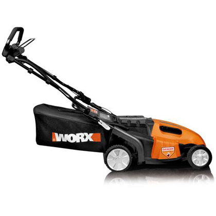 "Picture of Worx 36V Cordless 19"" PaceSetter™ Electric Lawn Mower with IntelliCut™"