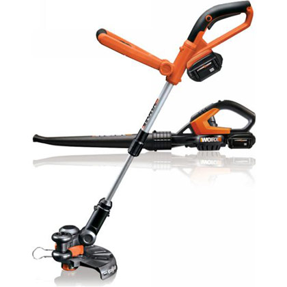 Picture of Worx 24V Li-Ion Combo Kit (Includes Grass Trimmer & Sweeper / Blower)