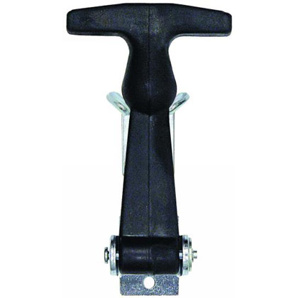 "Picture of 4-7/8"" Rubber Hood Catch with ""A"" Bracket"
