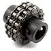 Drive Shaft Gearbox Flex Chain Coupler Product Image