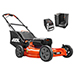 "Picture of 58V 21"" Brushless Cordless Push Lawn Mower w/ 4Ah Battery and Charger"