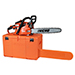 "18"" 40.2cc Easy-Starting Gas Chainsaw Value Pack w/ Case Product Image"