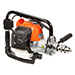 25.4cc Forward/Reverse Gas Engine Drill w/ Keyless Chuck