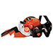 """Picture 4 of 24"""" 21.2cc Double-Sided Gas Hedge Trimmer"""
