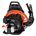 63.3cc 233 MPH 651 CFM Gas Backpack Leaf Blower w/ Tube Throttle Product Image
