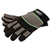 Large Durable Synthetic Breakable Work Gloves w/ Reinforced Protection