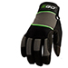Picture 2 of Large Durable Synthetic Breakable Work Gloves w/ Reinforced Protection