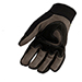 Picture 3 of Large Durable Synthetic Breakable Work Gloves w/ Reinforced Protection
