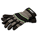 Large Goatskin Leather Breathable Work Gloves w/ Reinforced Protection