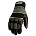 Picture 2 of Meidium Goatskin Leather Breathable Work Gloves w/ Reinforced Protection