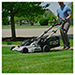 """Picture 3 of 21"""" 56V Battery-Powered Walk Behind Self Propelled Lawn Mower (Battery & Charger Not Included)"""