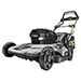 "21"" Poly Deck Dual-Port Self-Propelled 56V Power+ Lawn Mower with Two 5.0Ah Batteries and 550W Rapid Charger Product Image"