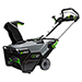 "56V Power+ 21"" Single Stage Snow Blower with 2 Lithium-Ion 5.0Ah Batteries and 550W Rapid Charger Product Image"