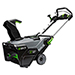 "56V Power+ 21"" Single Stage Snow Blower with 2 Lithium-Ion 7.5Ah Batteries and 550W Rapid Charger Product Image"