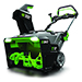 """POWER+ 56V 21"""" Single Stage Snow Blower with Steel Auger (Includes Two 7.5Ah Batteries and Charger) Product Image"""