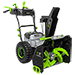 """POWER+ 56V 24"""" Two-Stage Self-Propelled Cordless Snowblower w/ 2x 7.5Ah Batteries & Dual-Port 280W Charger Product Image"""