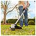 """Picture 4 of 15"""" Foldable Shaft String Trimmer with Rapid Reload Head, 56V Lithium-Ion G3 2.5Ah Battery and 210W Charger"""
