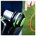 """Picture 3 of 15"""" Carbon Fiber Foldable Shaft String Trimmer with Powerload Head (Tool Only)"""