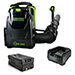 82V Commercial 600CFM Brushless Backpack Greenworks Blower Kit - Includes (1) GL-500 5.0 Ah Battery and (1) GC-400 Single Port Charger Product Image