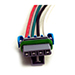 Picture 4 of Buyers SaltDogg Auger Repair Wire Harness, 4-Pin Male/Female Connector Kit