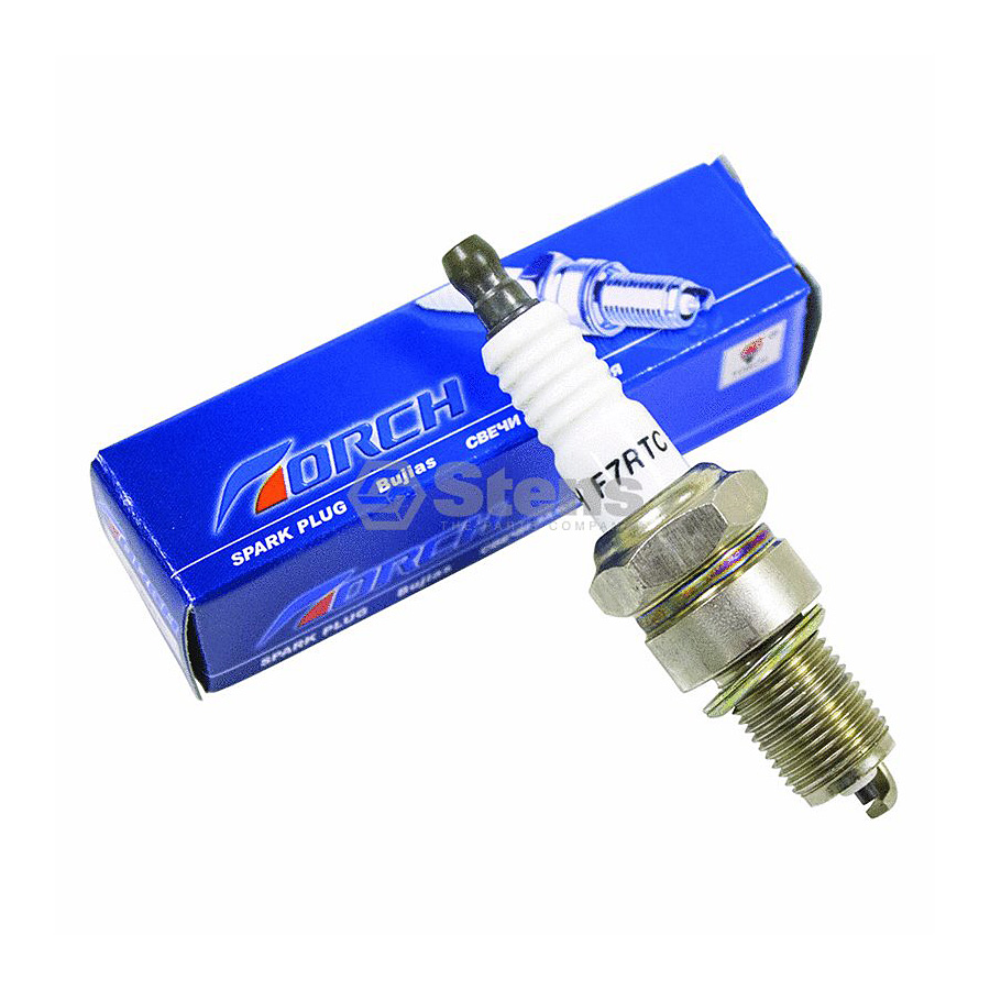 Replaces Torch F7RTC Stens 131-055 Spark Plug