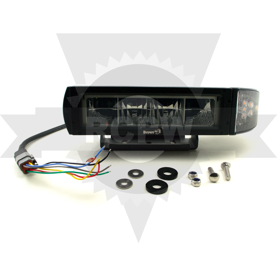Buyers 1312100 Universal Low Profile Heated Led Plow