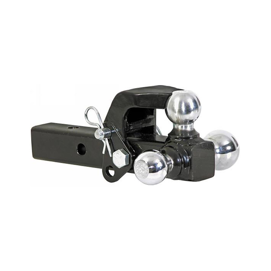 Buyers 1802279 Adjustable Tri Ball Multi Ball Hitch With