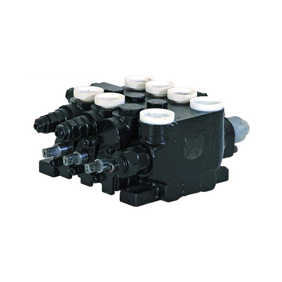 Hydraulic Salt Spreader Parts : Buyers p hydrastar section valve with power