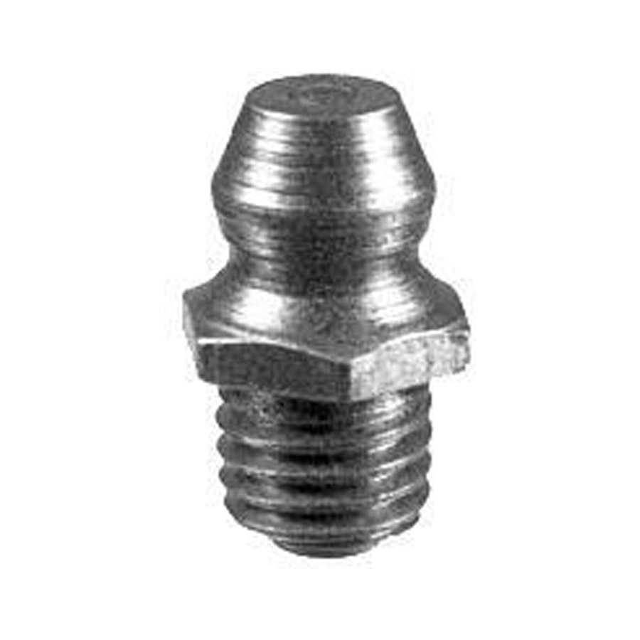 Buyers quot taper thread grease fitting straight