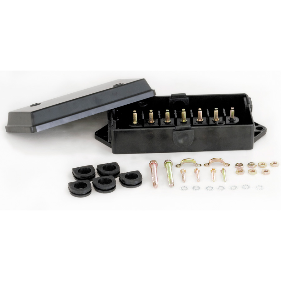 Buyers 5601100 PP Electrical Junction Box With 7 Terminals