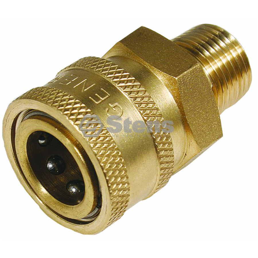Stens 758591 3 8 Quot Male Quick Coupler Socket 6 09