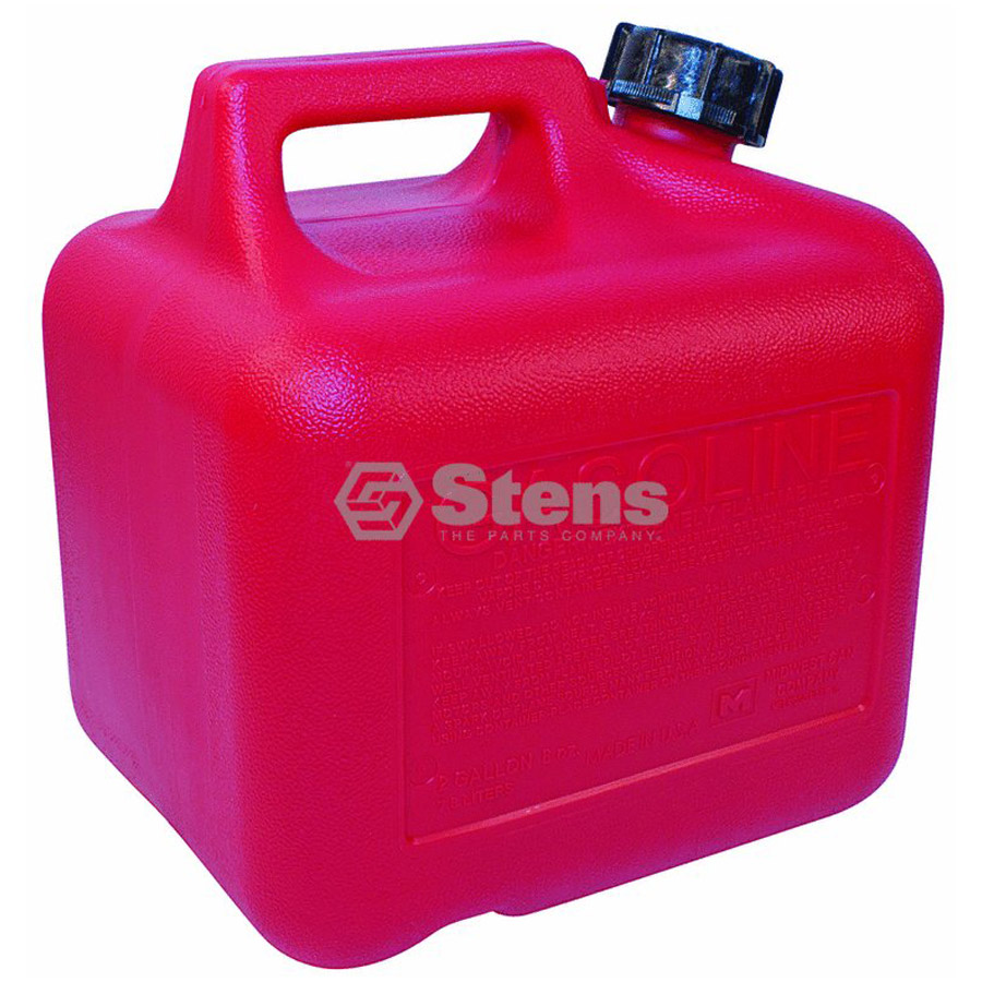 stens 765502 plastic gas can - carb approved