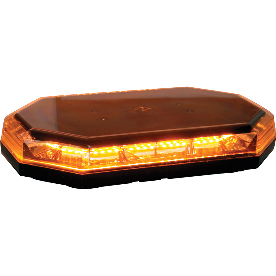 Buyers 8891060 Amber Led Hexagonal Mini Light Bar 191 31