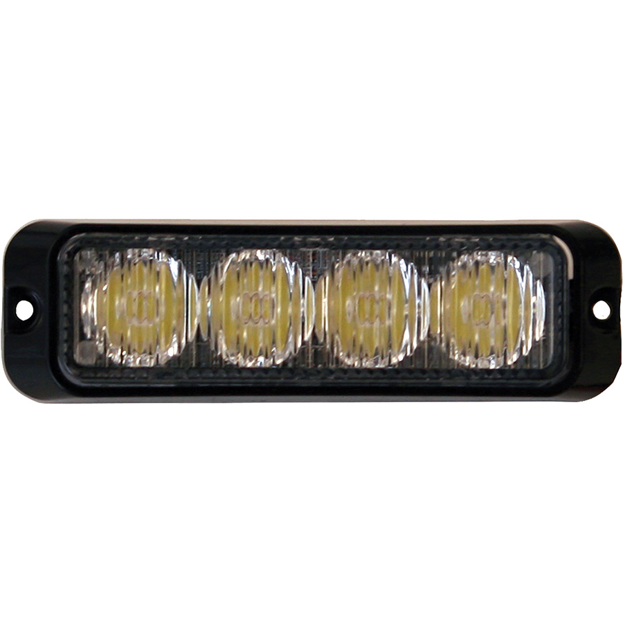 Buyers 8891130 4 3 4 Quot 4 Led Amber Surface Mount Mini